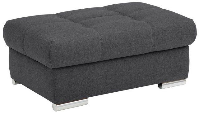 Sessel und Hocker - DELAVITA Hockerbank »Lotus Duraflex«, mit besonders hohem Sitzkomfort, belastbar bis ca. 140 kg, wahlweise mit Stauraum  - Onlineshop OTTO