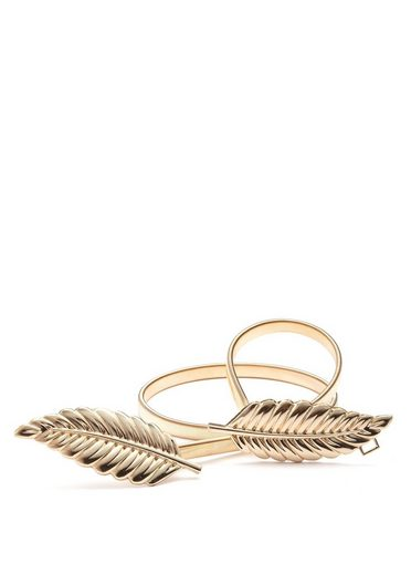 LASCANA Taillengürtel mit moderner Federschließe und elastischem Band
