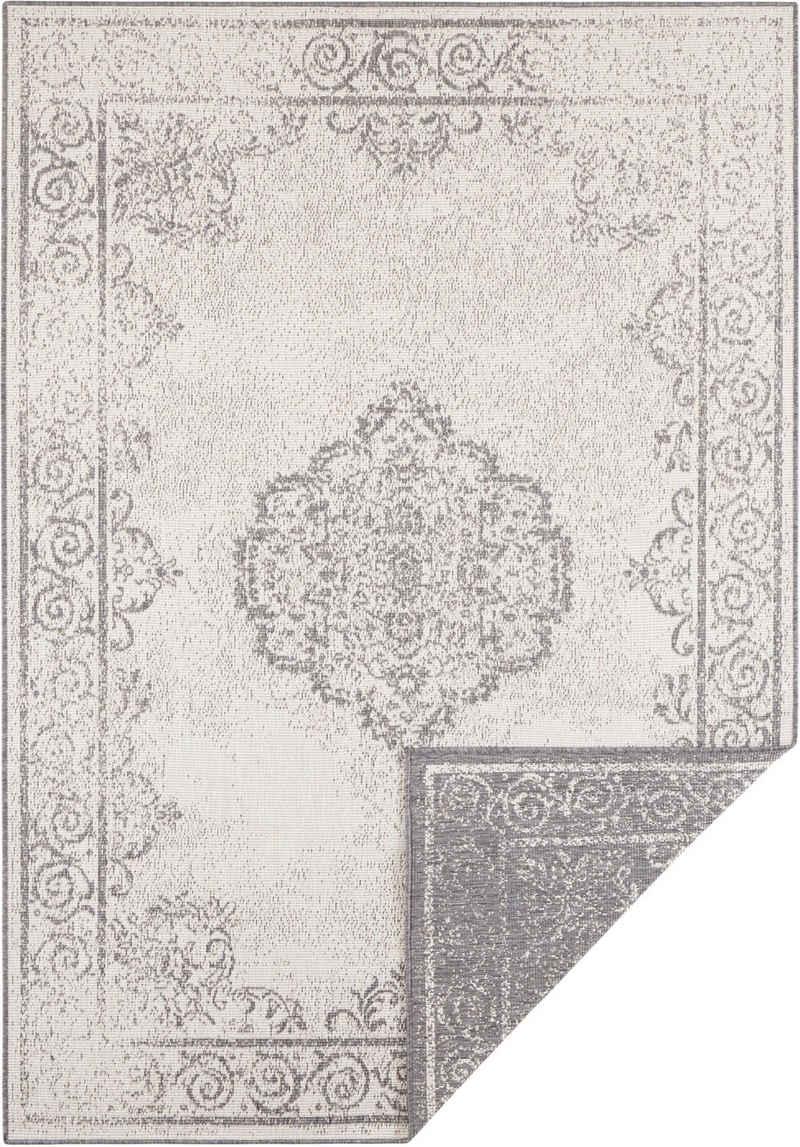 Teppich »CEBU«, bougari, rechteckig, Höhe 5 mm, In- und Outdoor geeignet, Wendeteppich, Wohnzimmer