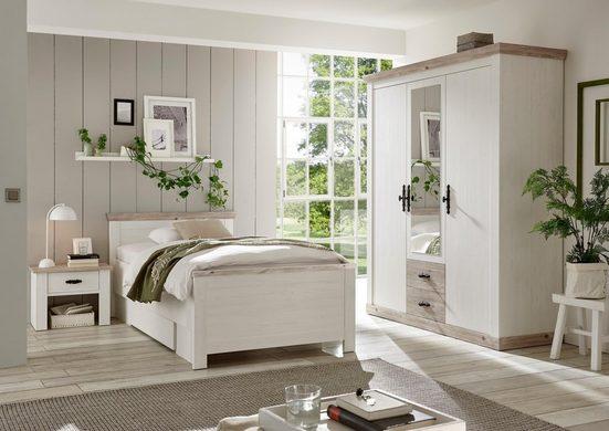 Home affaire Schlafzimmer-Set »Florenz«, in 3 verschiedenen Ausführungen