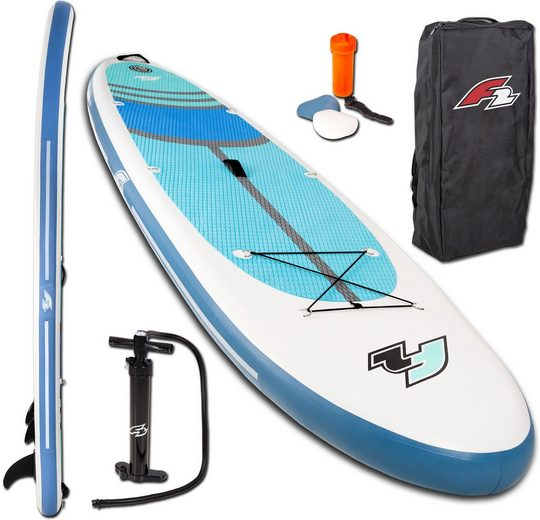 F2 Inflatable SUP-Board »Cross 10,5«, (Set, 4 tlg), ohne Paddel