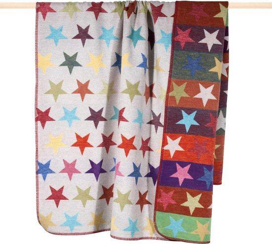 Wohndecke »Stars«, PAD, mit bunten Sternen