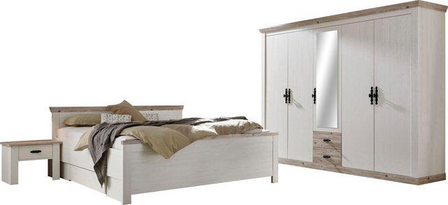 Schlafzimmer Sets - Home affaire Schlafzimmer Set »Florenz«, in 3 verschiedenen Ausführungen  - Onlineshop OTTO