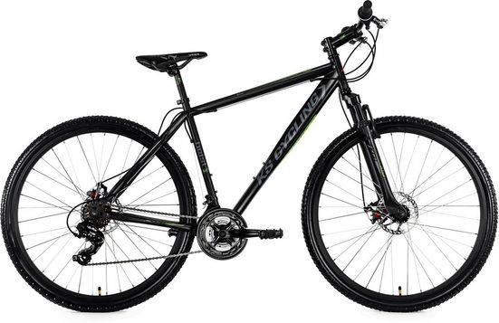 KS Cycling Mountainbike »Heist«, 21 Gang Shimano Altus Schaltwerk, Kettenschaltung