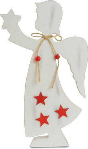 Engelfigur »Sterne«, aus Holz