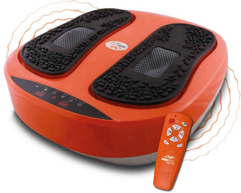 MediaShop Vibrationsplatte »VibroLegs«, 30 W, 10 Intensitätsstufen, (3 tlg., mit Trainingsplan)