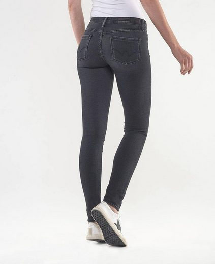 Le Temps Des Cerises Skinny-fit-Jeans »ULTRAPOW« in cooler Used-Waschung