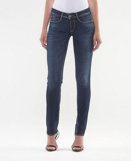 Le Temps Des Cerises Skinny-fit-Jeans »PULP REG« in angesagter Used-Waschung