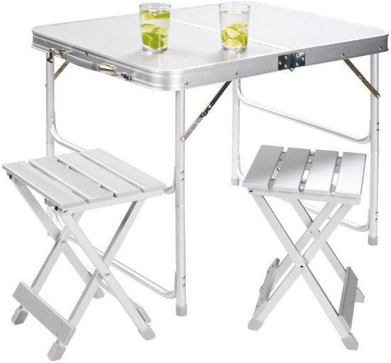 GRAND CANYON Campingtisch »Alu Table Set for 2«
