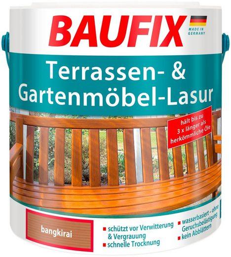 Baufix Holzschutzlasur »Bangkirai«, 2,5 Liter, braun