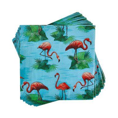 BUTLERS APRÈS »Papierserviette Flamingos«
