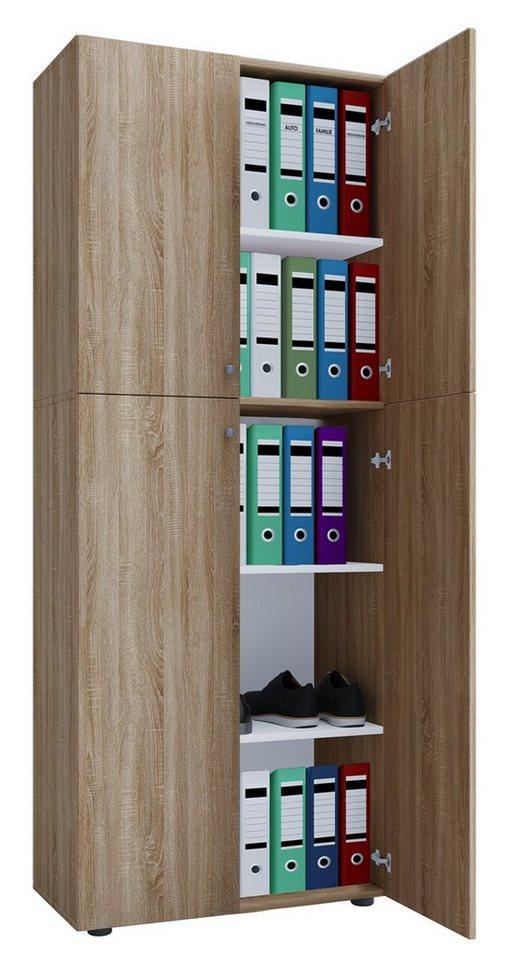 Schränke und Regale - VCM Büroschrank mit Drehtüren ''Lona''  - Onlineshop OTTO