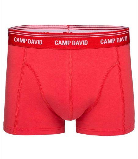 CAMP DAVID Boxershorts, mit Logostick