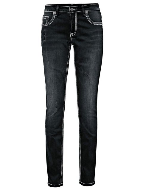 Hosen - B.C. BEST CONNECTIONS by Heine Boyfriend Jeans Boyfriend Style › schwarz  - Onlineshop OTTO