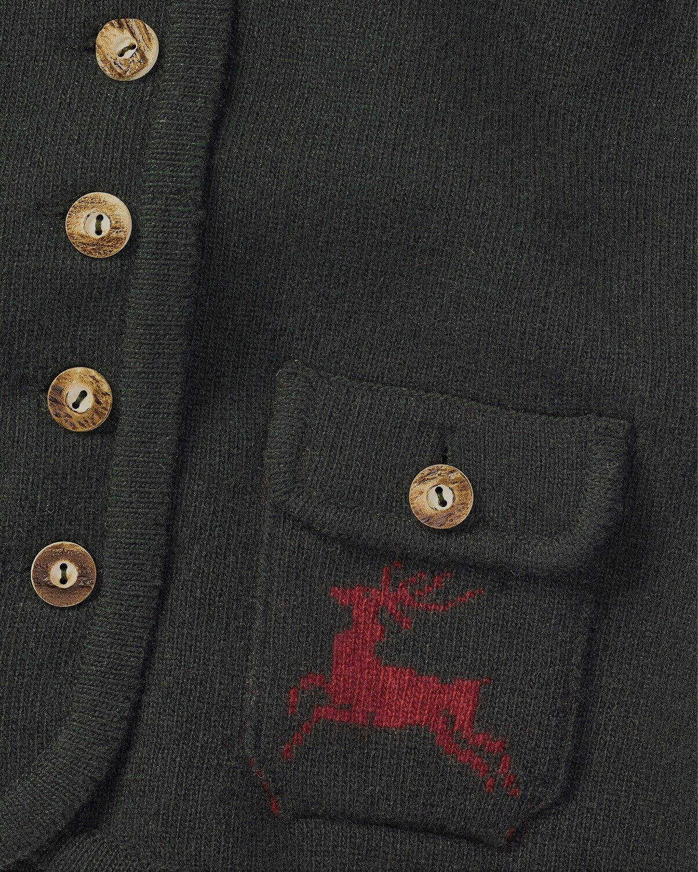 Luis Steindl Strickweste Aufgesetzte Taschen Mit Geknöpften Patten Online Kaufen