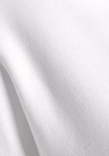 Großer Rabatt LASCANA Sweatshirt mit Metallic Logodruck