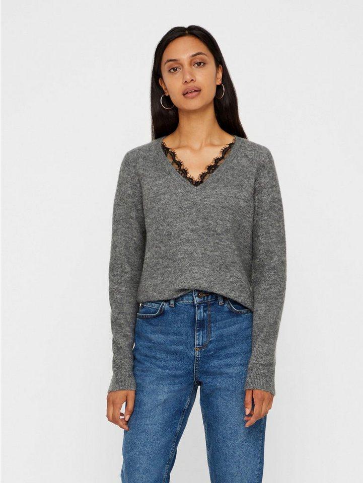Vero Moda V-Ausschnitt-Pullover »IVA«