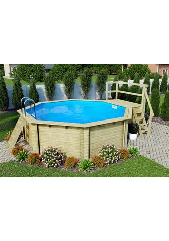 KARIBU Aštuonių kampų baseinas »Holzpool Gr. ...