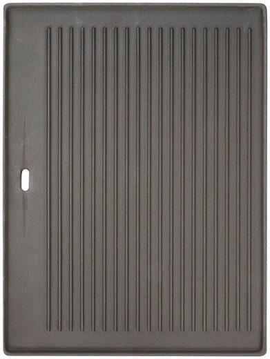 BBQ CHIEF Grillplatte BxL: 25x40 cm, für Gasgrill BBQ Chief HELIOS 5+1