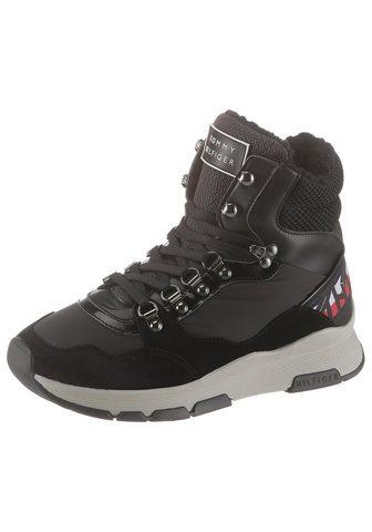 TOMMY HILFIGER Žieminiai batai »PATENT FASHION SPORTY...