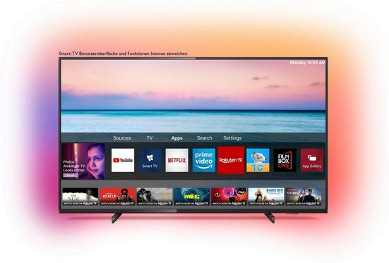 Philips 65PUS6704/12 LED-Fernseher (164 cm/65 Zoll, 4K Ultra HD, Smart-TV)