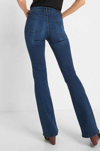 ORSAY Straight-Jeans in ausgewaschenem Look