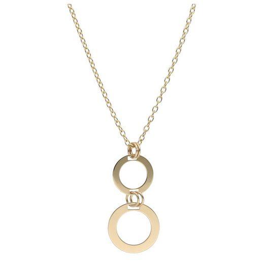 Luigi Merano Goldkette »mit beweglichen Ringen, Gold 375«