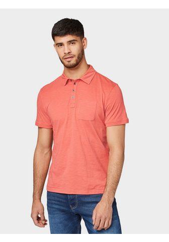 TOM TAILOR Marškinėliai »Meliertes Polo-Shirt«