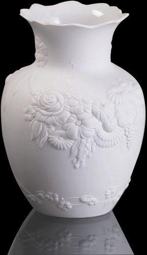 Kaiser Porzellan Tischvase »Flora« (1 Stück), Höhe ca. 16,5 cm