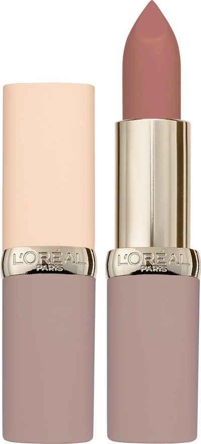 L'ORÉAL PARIS Lippenstift »Color Riche Ultra Matte Free the Nudes«
