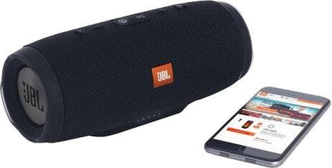 JBL Charge 3 Stealth Edition Stereo Bluetooth-Lautsprecher (Bluetooth, 20 W)