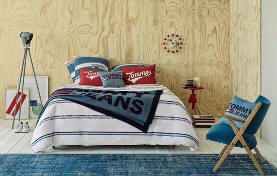 Bettwäsche »Logo Lifestyle«, TOMMY JEANS, mit Tommy Jeans Schriftzug