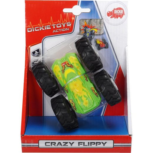 Dickie Toys Dickie Crazy Flippy, 4-sort.