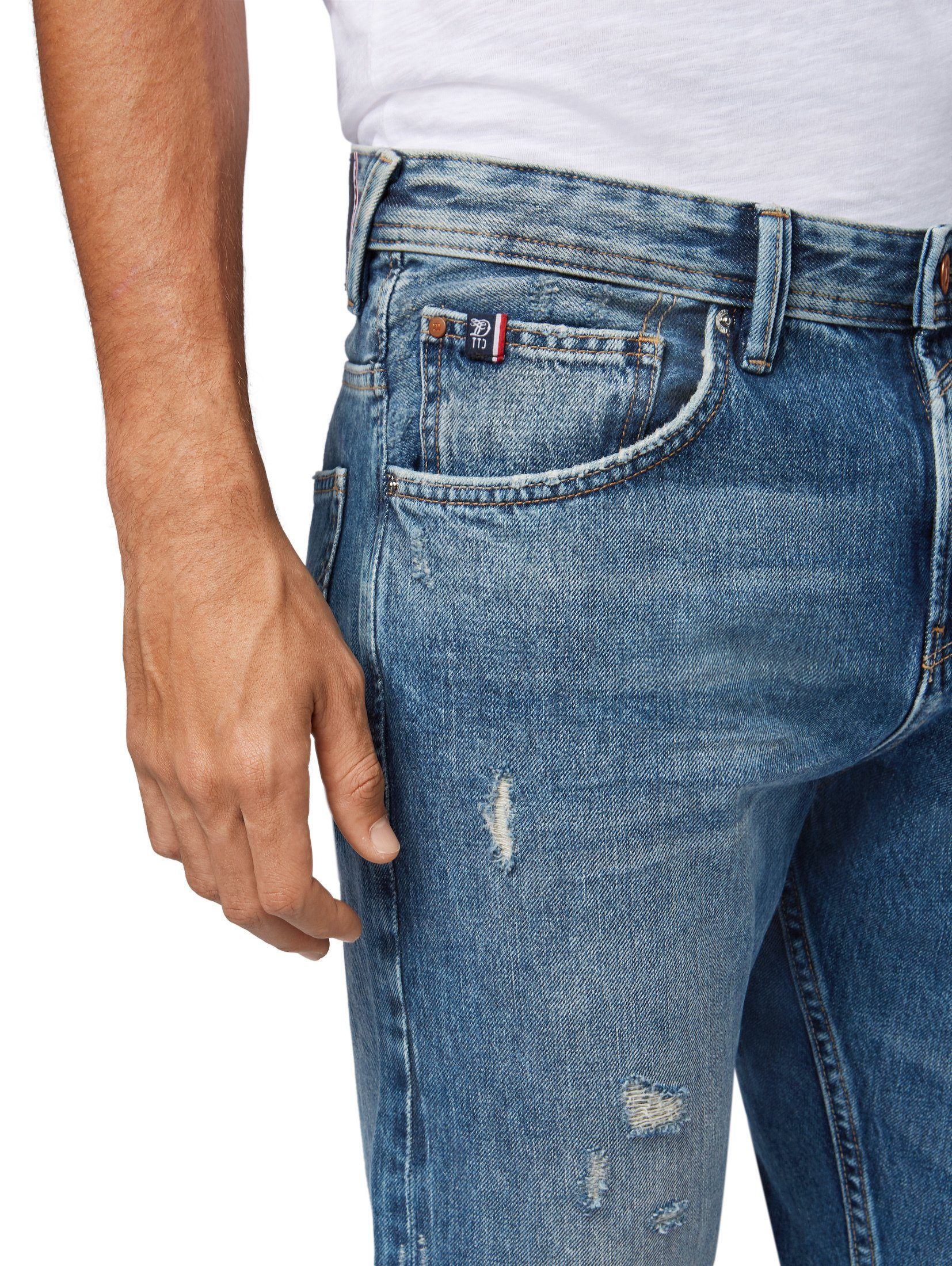 Tailor Denim Tapered pocket Jeans« »conroy Tom Kaufen 5 jeans Online oBrdCxeW