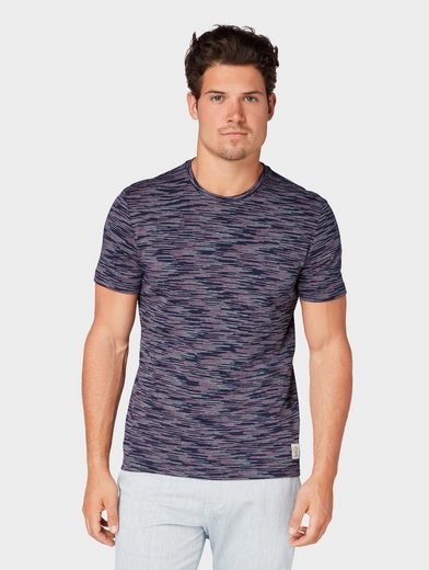 TOM TAILOR T-Shirt »Strukturiertes T-Shirt«