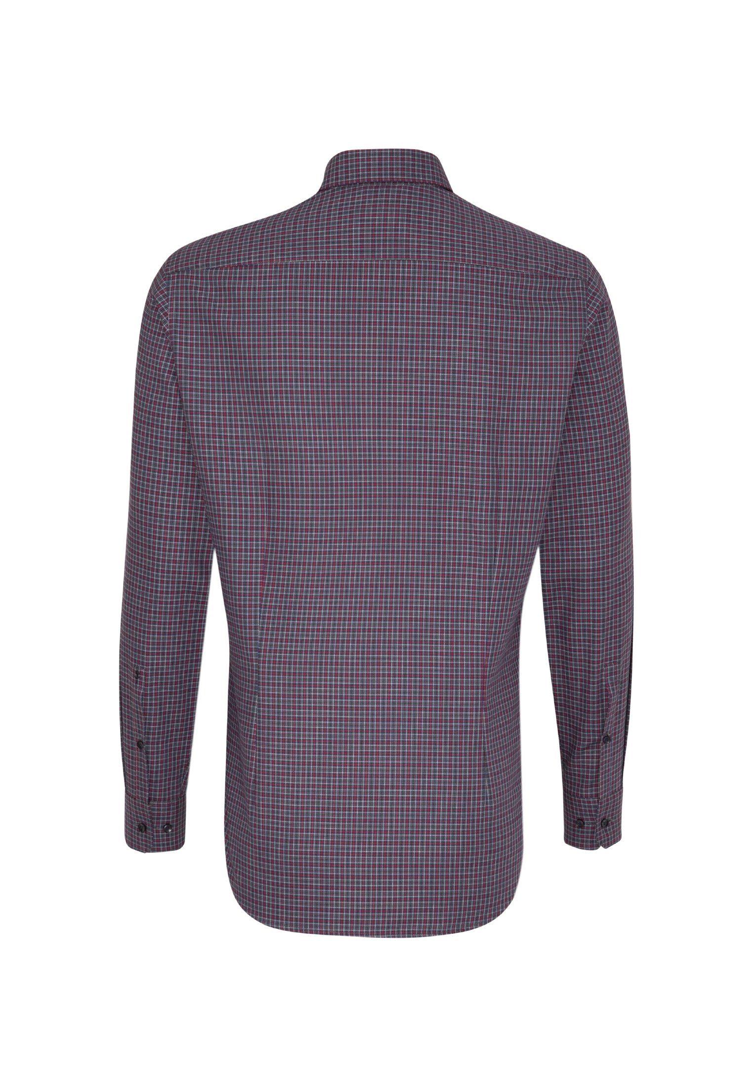 Langarm Button Online Slim down Businesshemd kragen Kaufen »slim« Seidensticker Karo v08ymnwNO