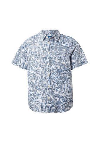 TOM TAILOR Marškiniai »Hemd su Palmenmuster«