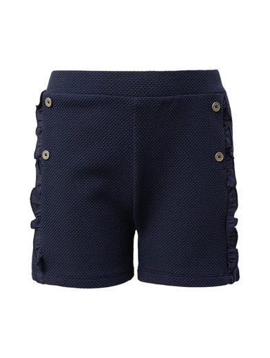 TOM TAILOR Jeansshorts »Strukturierte Shorts«