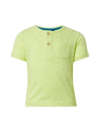 TOM TAILOR Kurzarmshirt »Neon Henley T-Shirt«