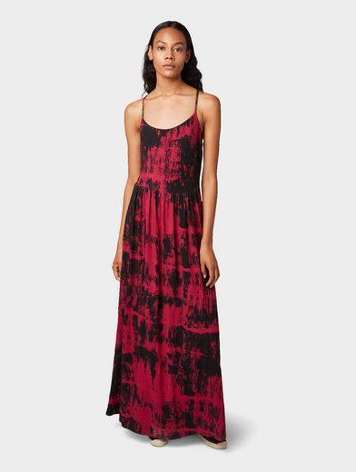 TOM TAILOR Denim Maxikleid »Maxi-Kleid im Batik-Look«