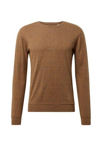 TOM TAILOR Трикотажный пуловер »Melierter С...