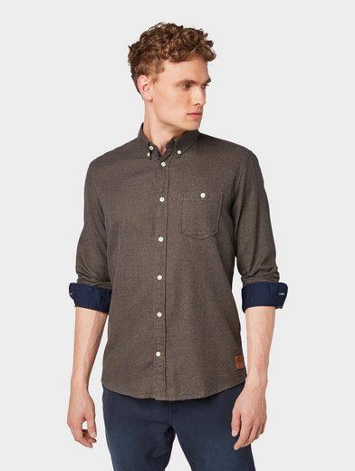 TOM TAILOR Hemd »Meliertes Hemd«