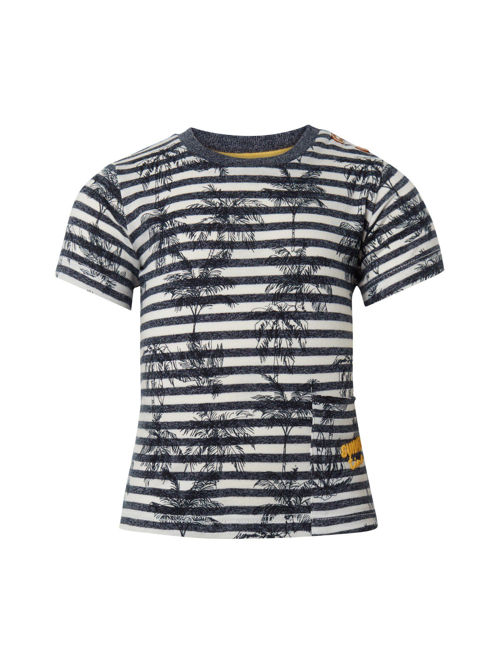TOM TAILOR Kurzarmshirt »Gemustertes T Shirt«   OTTO