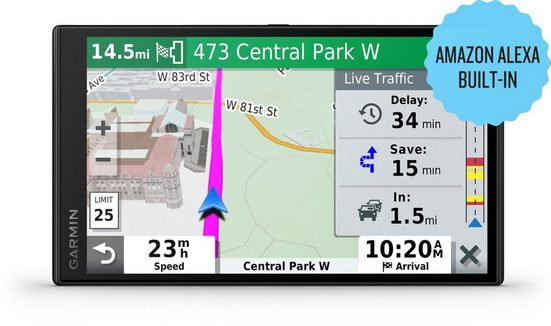 Garmin Navigationsgerät »DriveSmart 65 mit Amazon Alexa MT-S EU 7-Zoll«