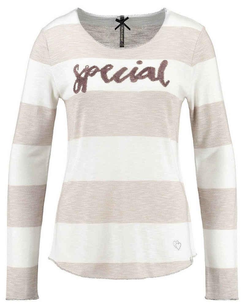 Key Largo T-Shirt »Damen Langarmshirt WLS JOHANNA ROUND«