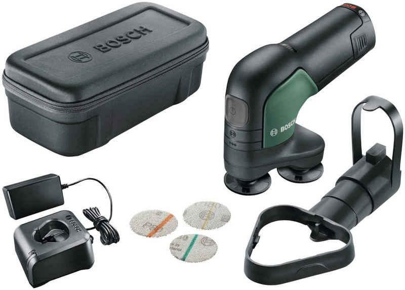Bosch Powertools Deltaschleifer »EasyCurvSander 12«, 1800 m/min, mit Akku und Ladegerät