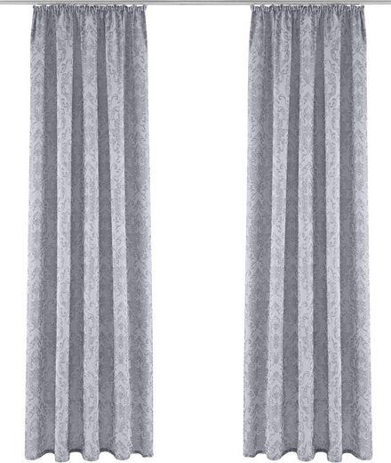 Vorhang »ONA«, DELAVITA, Kräuselband (1 Stück)