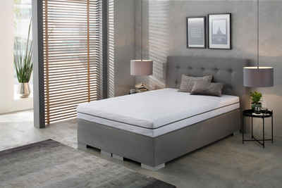 Komfortschaummatratze »Dream Flex«, BeCo EXCLUSIV, 18 cm hoch, Raumgewicht: 28, Feiner, hygienischer Mikrofaser-Bezug