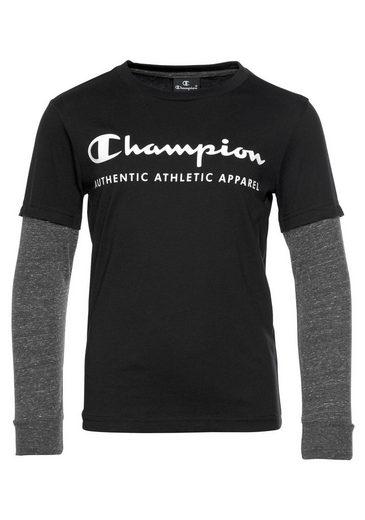 Champion Langarmshirt »LONGSLEEVE CREW T-SHIRT«
