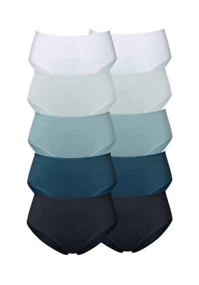 Go in Hüftslip (10 Stück) in frischen Uni-Farben